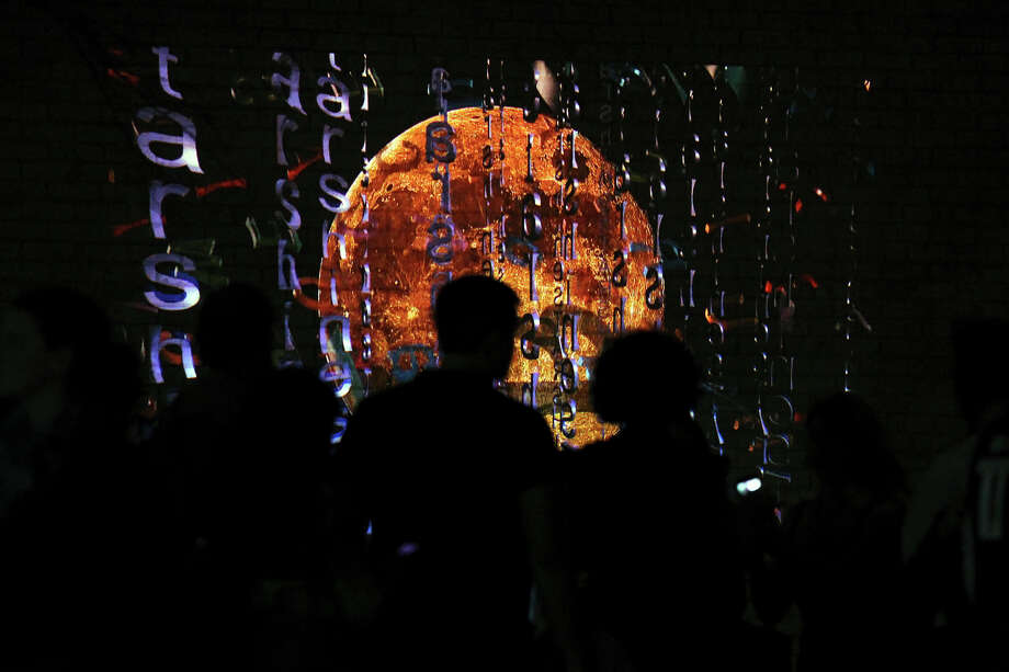 Luminaria is held in downtown San Antonio on March 9, 2013. Photo: Tom Reel, San Antonio Express-News