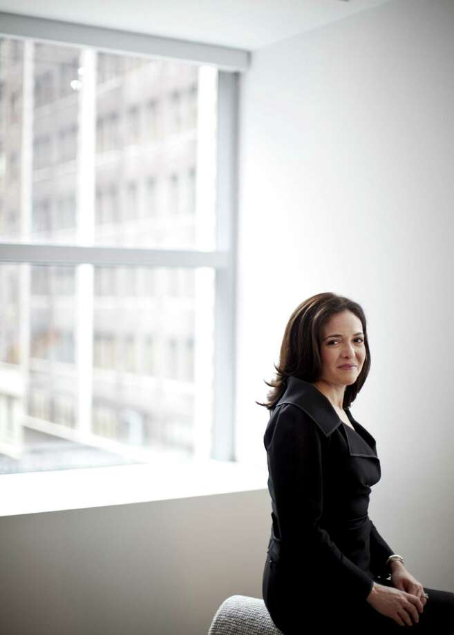 "Sheryl Sandberg's ""Lean In: Women, Work, and the Will to Lead"" comes out today. Photo: Todd Heisler / New York Times"