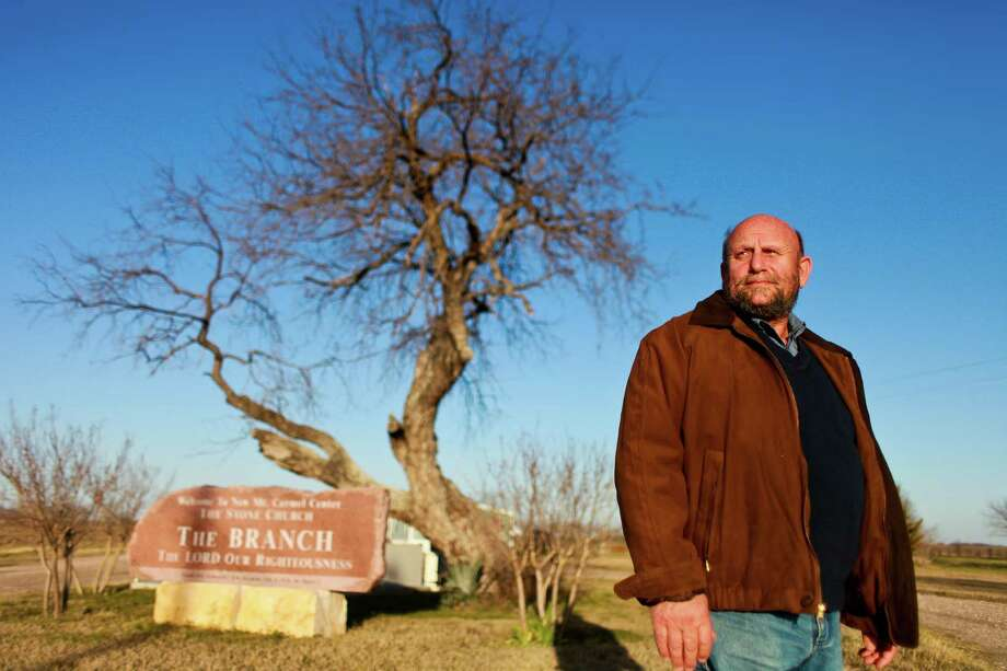 "Charles Pace, current pastor of the Branch Davidian congregation, was not one of David Koresh's followers: ""They were duped."" Photo: Nick De La Torre, Staff / © 2013 Houston Chronicle"