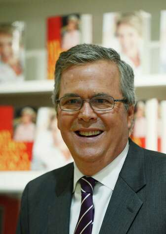 "Former Florida Gov. Jeb Bush has co-authored a new book, ""Immigration Wars."" Photo: Kevork Djansezian, Getty Images / 2013 Getty Images"