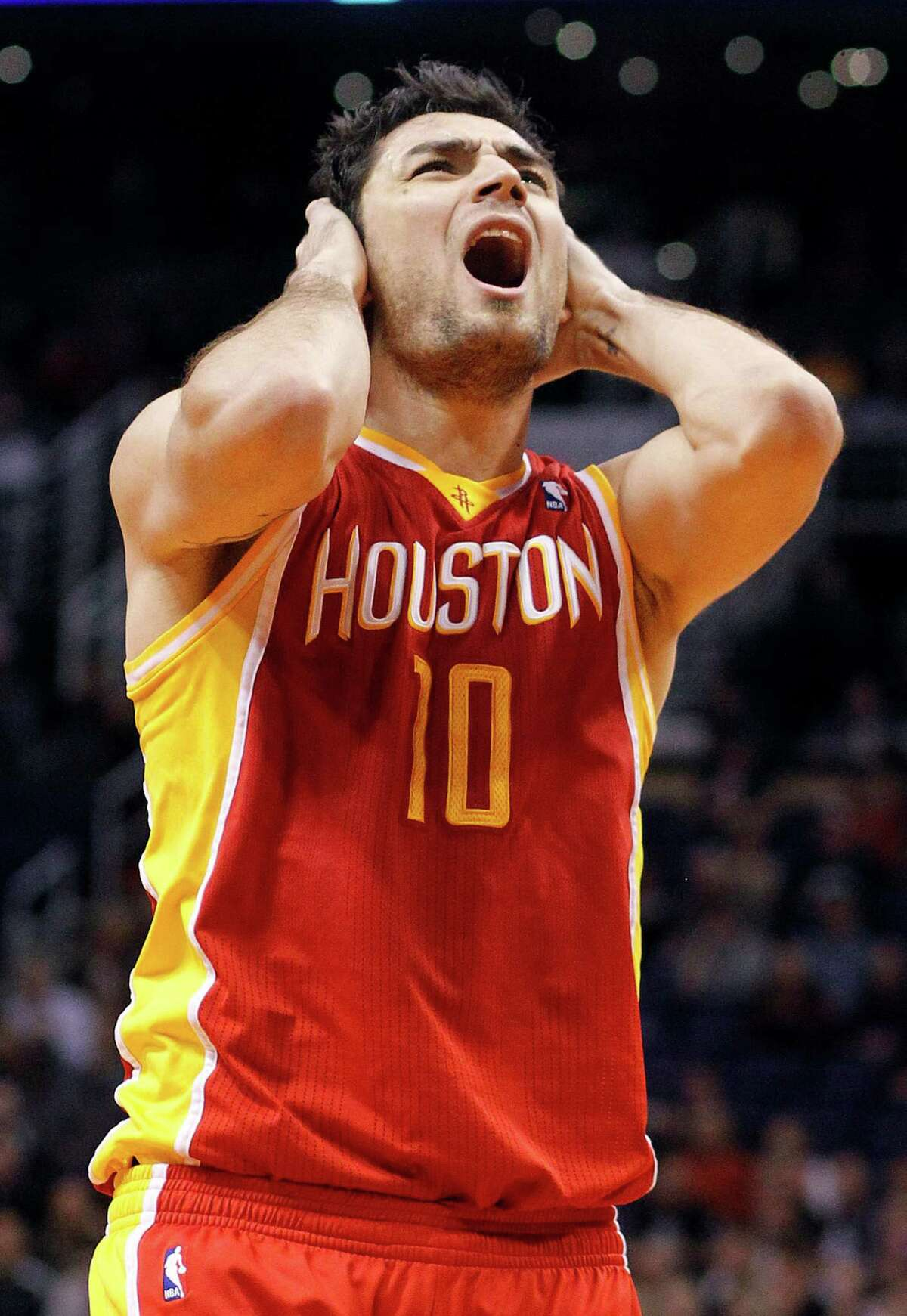 Carlos Delfino, upset with a foul call Saturday, said the loss to the Suns was unacceptable.
