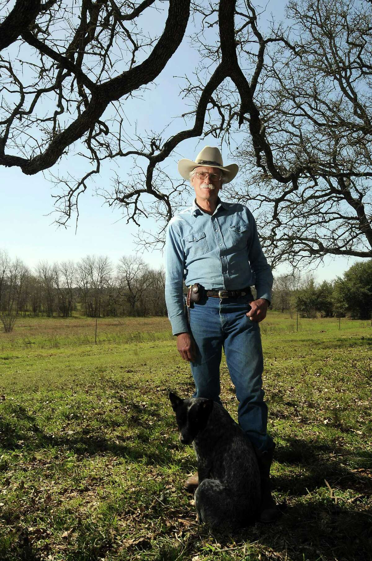Jim Kearney, a scholar and rancher who lives in Weimar, will be teaching a course in European immigration into Texas at the University of Texas this fall.