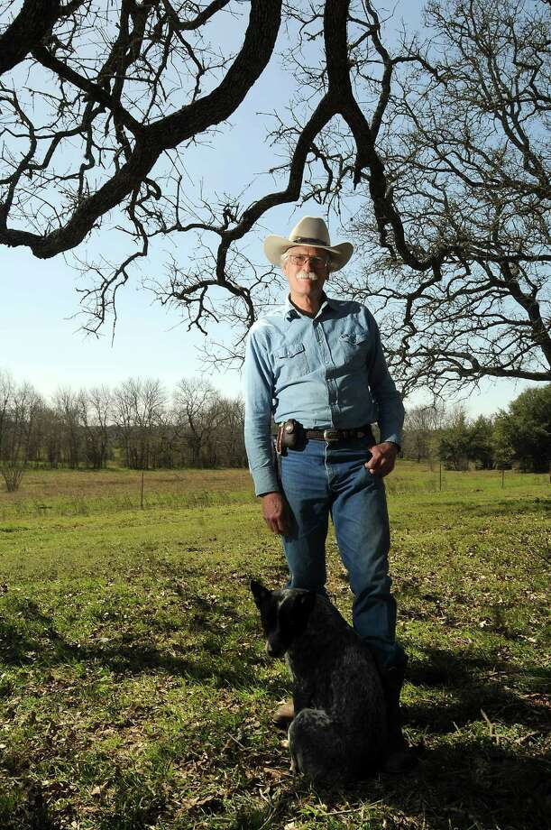 Jim Kearney, a scholar and rancher who lives in Weimar, will be teaching a course in European immigration into Texas at the University of Texas this fall. Photo: Dave Rossman / Houston Chronicle