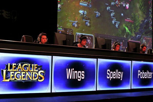 "Gamers play ""League of Legends"" at the Palmer Events Center during the South by Southwest Gaming Expo Sunday March 10, 2013 in Austin, TX. Photo: Edward A. Ornelas, San Antonio Express-News / © 2013 San Antonio Express-News"