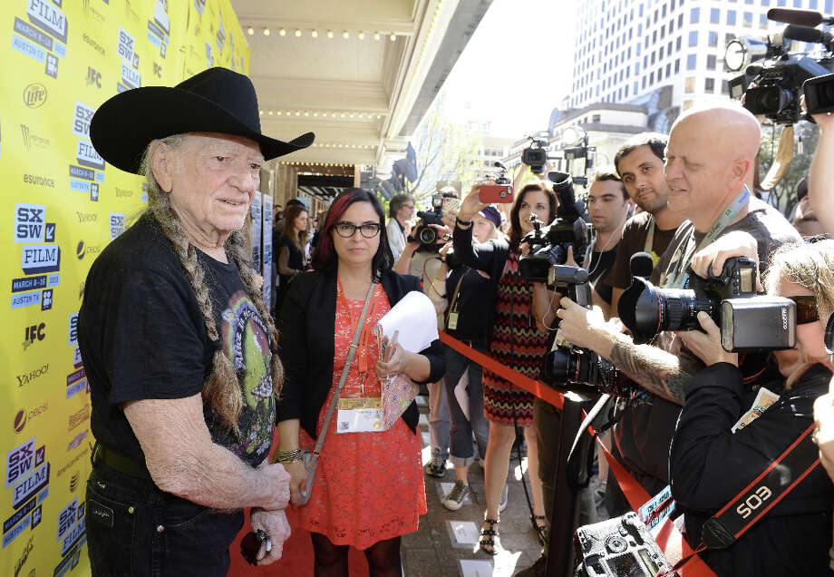 Musician Willie Nelson attends the screening of When Angels Sing during the 2013 SXSW Music, Film + Interactive Festival  at the Paramount Theatre on March 10, 2013 in Austin. Photo: Michael Buckner, Getty Images For SXSW / 2013 Getty Images