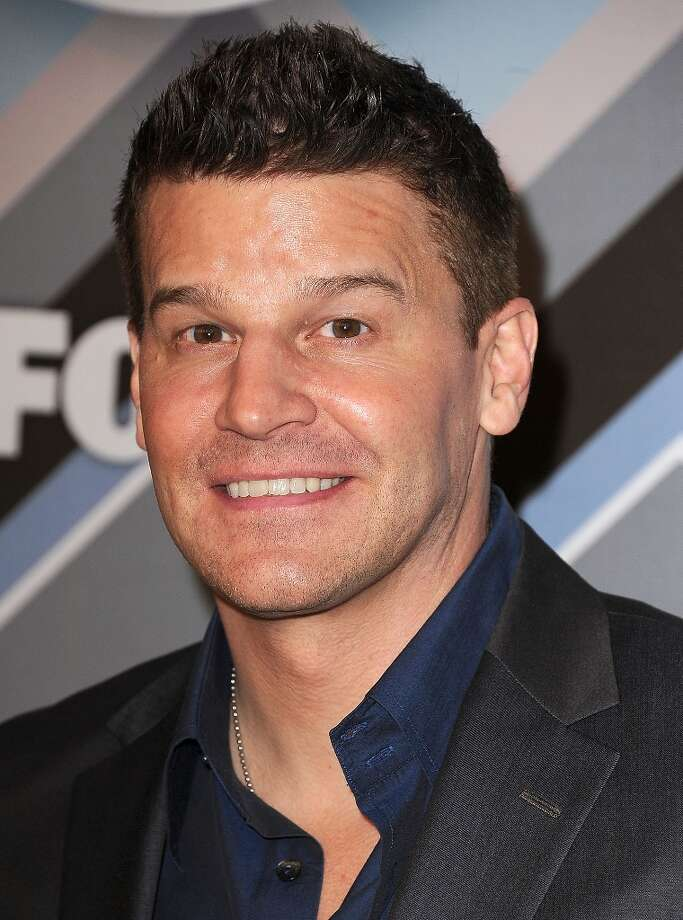 David Boreanaz in 2013. Boreanaz went on to star in the 'Buffy' spinoff 'Angel' and now has another TV hit on hands. He stars alongside Emily Deschanel in FOX's 'Bones.' Photo: Steve Granitz, WireImage / 2013 Steve Granitz