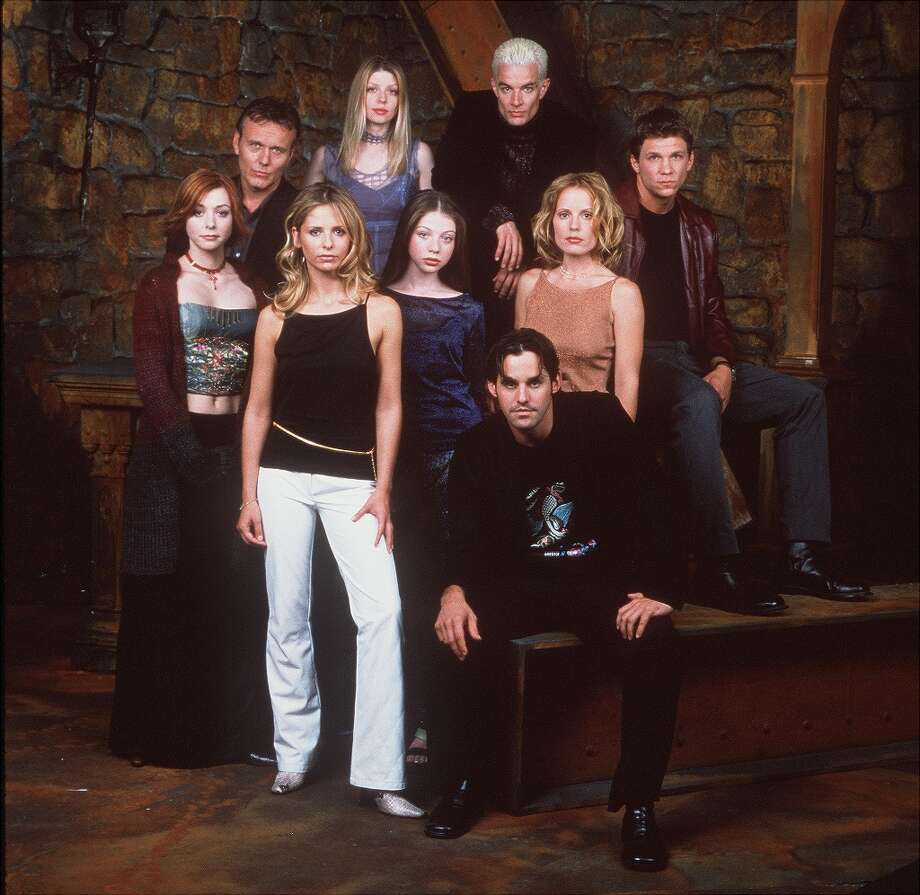 The cast of Buffy The Vampire Slayer. Photo: Getty Images / Getty Images North America