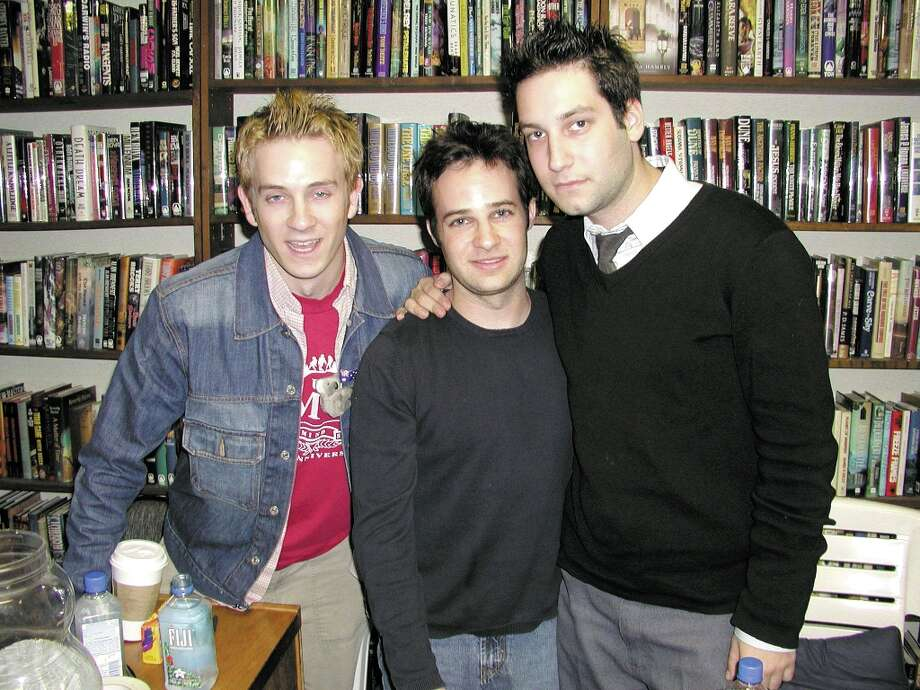 (L to R) Tom Lenk, Danny Strong and Adam Busch played Andrew Wells, Jonathan Levinson and Warren Mears, respectively. Together they were the Trio, three geeks who fancied themselves supervillians. Warren was the true bad guy among them, and he paid the price in season six. Photo: Alexander Sibaja, Getty Images / Getty Images North America
