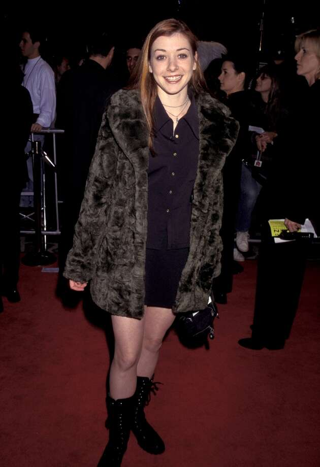 Alyson Hannigan, aka Buffy's best friend Willow Rosenberg, in 1997. Photo: Jim Smeal, WireImage / Ron Galella Collection