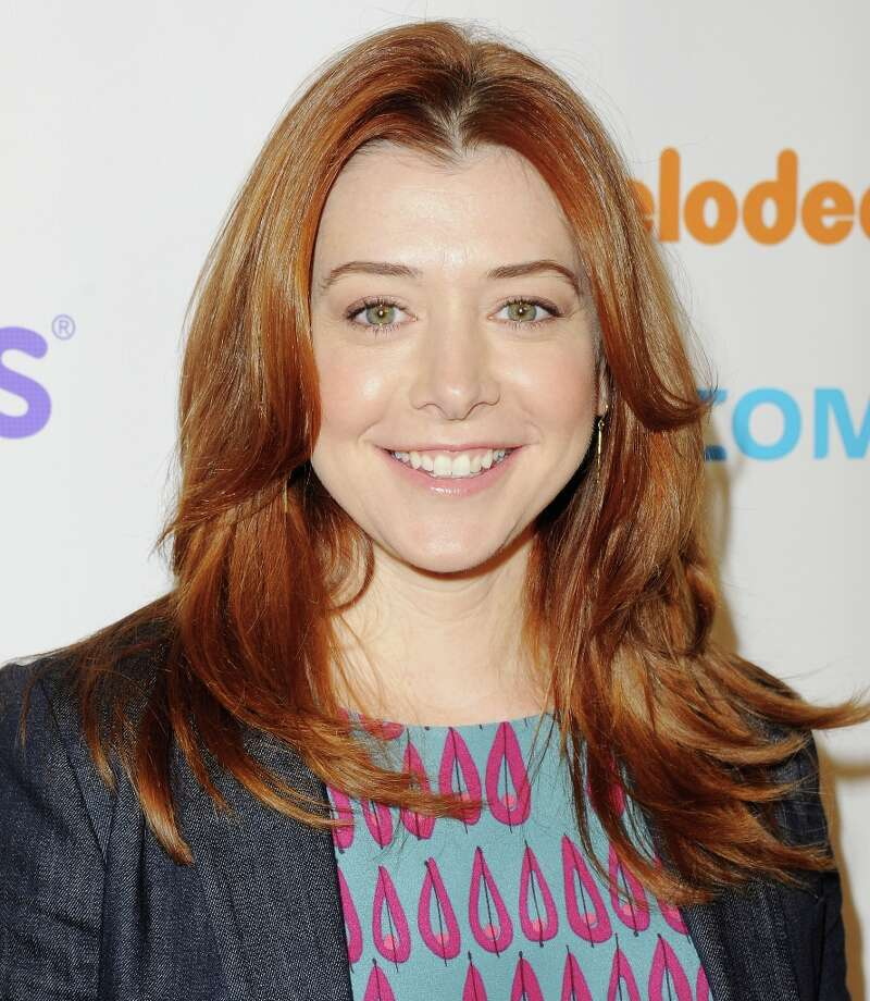 "Alyson Hannigan starred in ""Buffy the Vampire Slayer"" and the ""American Pie"" movies. Nerd points.  Photo: Jon Kopaloff, FilmMagic / 2012 Jon Kopaloff"