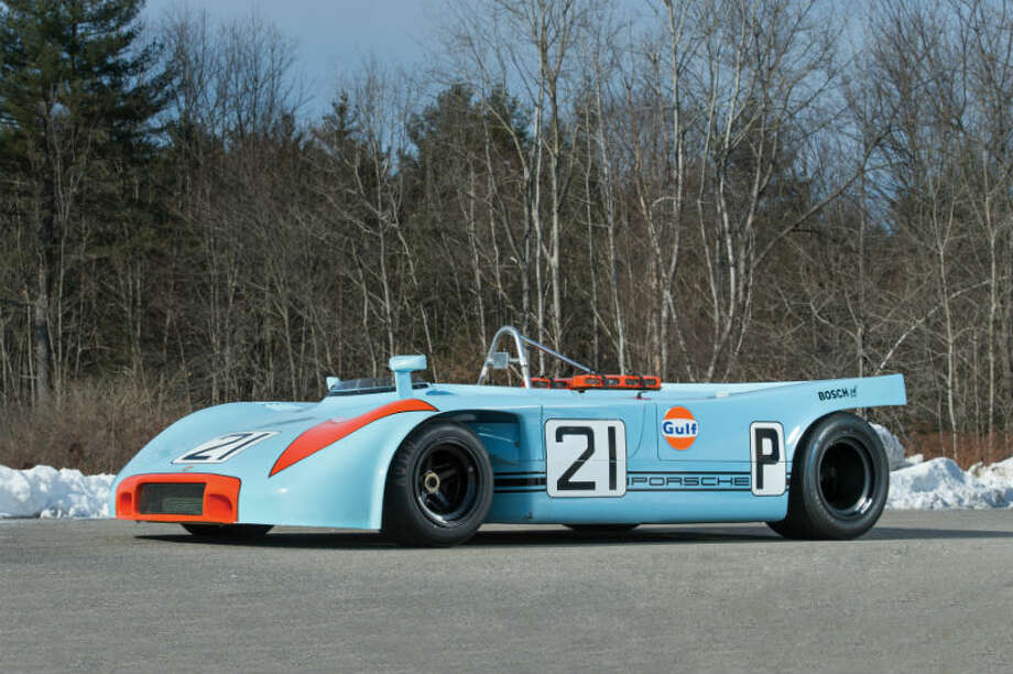 A 1970 Porsche 908/3 sold for $1.3 million. Photo: Ned Jackson/RM Auctions Photo: Courtesy Of RM Auctions