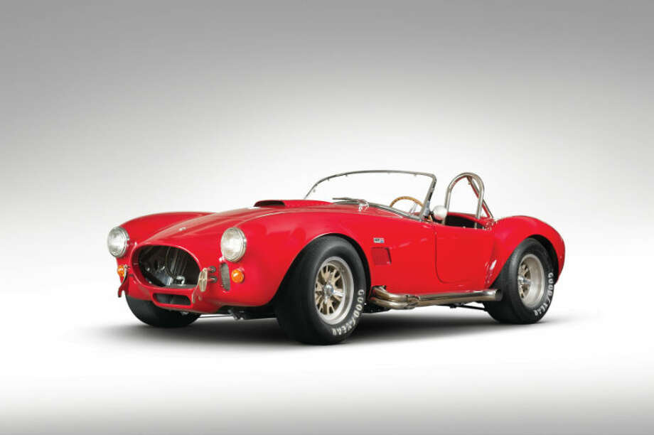 A 1966 Shelby 427 Cobra sold for $836,000. Photo: Ned Jackson/RM Auctions Photo: Courtesy Of RM Auctions