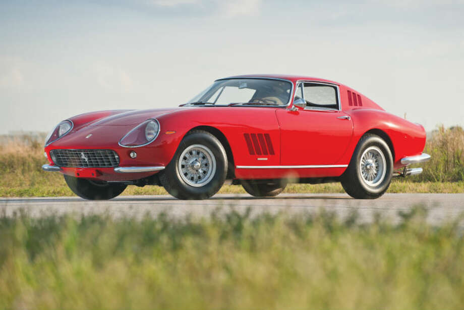 A 1965 Ferrari 275 GTB by Scaglietti sold for $1,375,000. Photo: Darin Schnabel/RM Auctions Photo: Courtesy Of RM Auctions