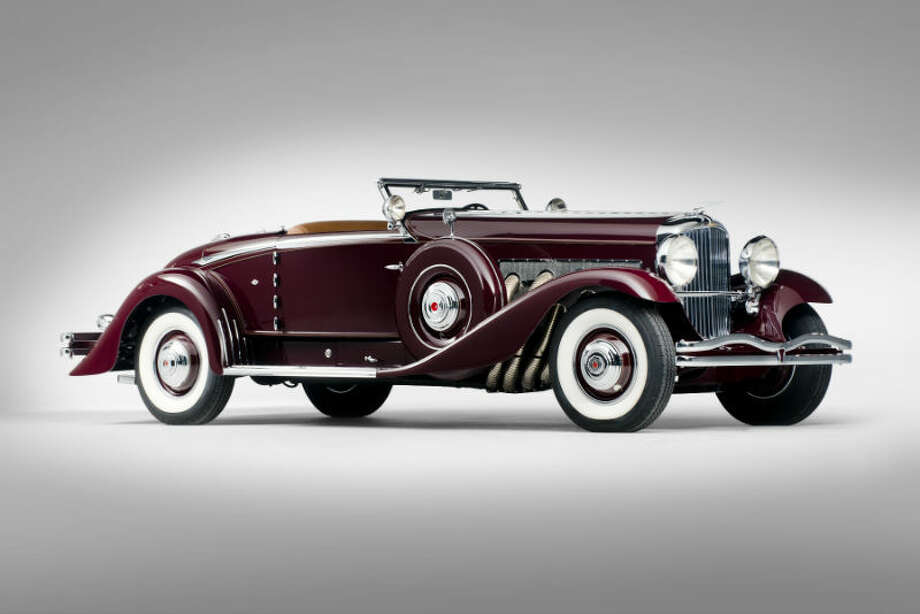 A 1935 Duesenberg Model SJ sold for $4,510,000. Photo: Darin Schnabel/RM Auctions Photo: Courtesy Of RM Auctions