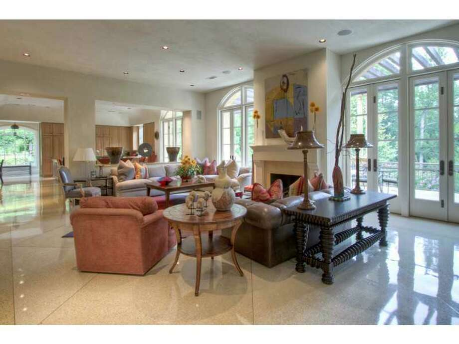 This Atlanta home sits on more than 10 acres and is full of unique amenities, including a full baseball diamond. The asking price is $9.75 million.Photo: Beacham & Company Photo: Beacham & Company