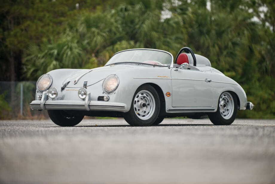 A 1959 Porsche 356A 1600 Speedster sold for $159,500. Photo: Darin Schnabel/RM Auctions Photo: Courtesy Of RM Auctions