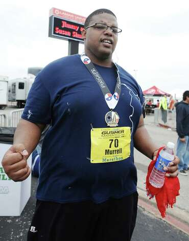 Our photographers were at the Gusher Marathon on Saturday, March 9, 2013.  Did they see you? Photo taken: Randy Edwards/The Enterprise