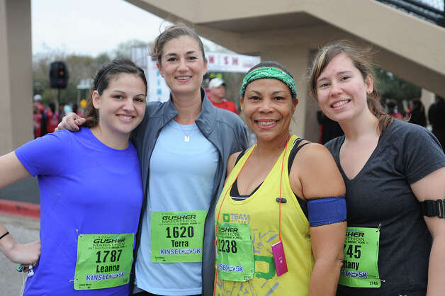 2013 Gusher Marathon and 5K Photo taken March, 09, 2013 Guiseppe Barranco/The Enterprise Photo: Guiseppe Barranco, STAFF PHOTOGRAPHER / The Beaumont Enterprise