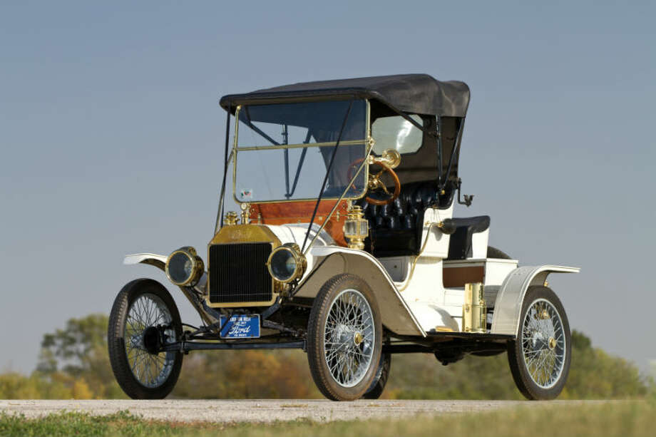 A 1912 Ford Model T sold for $35,750. Photo: Teddy Pieper/RM Auctions Photo: Courtesy Of RM Auctions