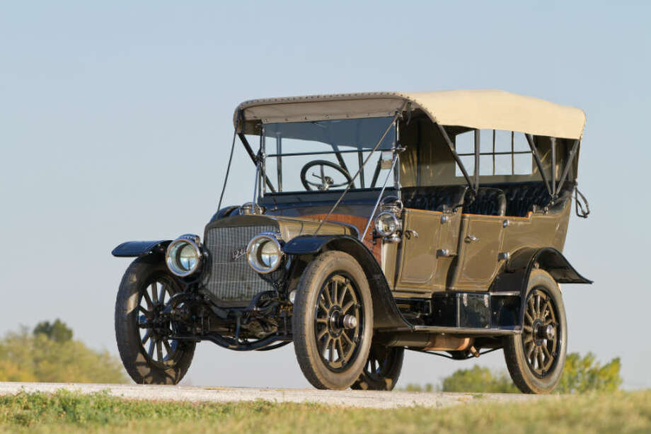 A 1911 Lozier Model 51 sold for $1.1 million. Photo: Teddy Pieper/RM Auctions Photo: Courtesy Of RM Auctions