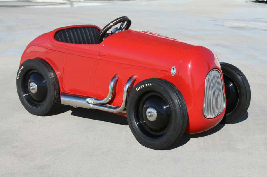 A 1932 Ford Pedal Car sold for $2,875. Photo: Vinnie Mandzak/RM Auctions Photo: Courtesy Of RM Auctions