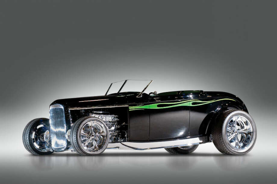 "A 1932 Ford ""Chromezilla"" sold for $176,000. Photo: Darin Schnabel/RM Auctions Photo: Courtesy Of RM Auctions"