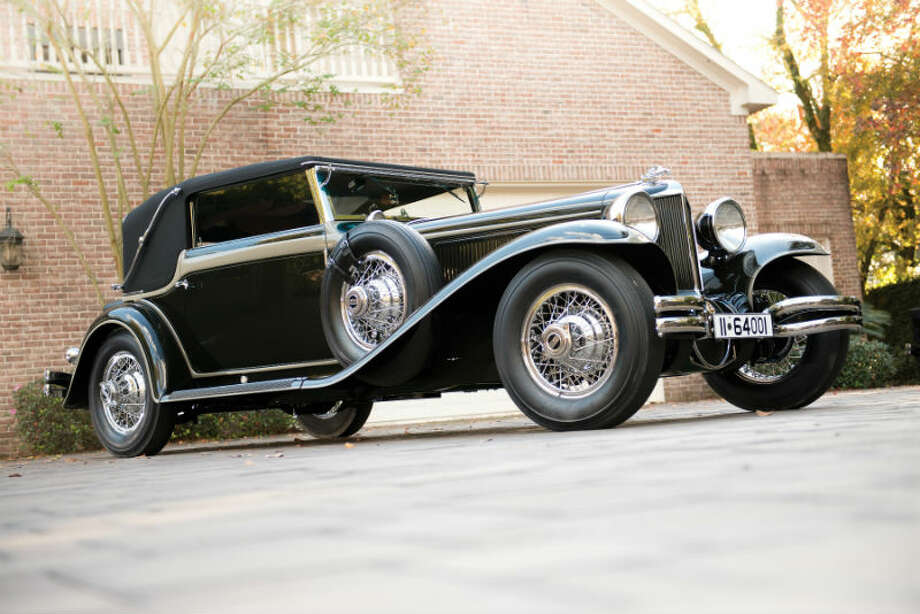 A 1930 Cord L-29 Sport Cabriolet sold for $990,000. Photo: Darin Schnabel/RM Auctions Photo: Courtesy Of RM Auctions
