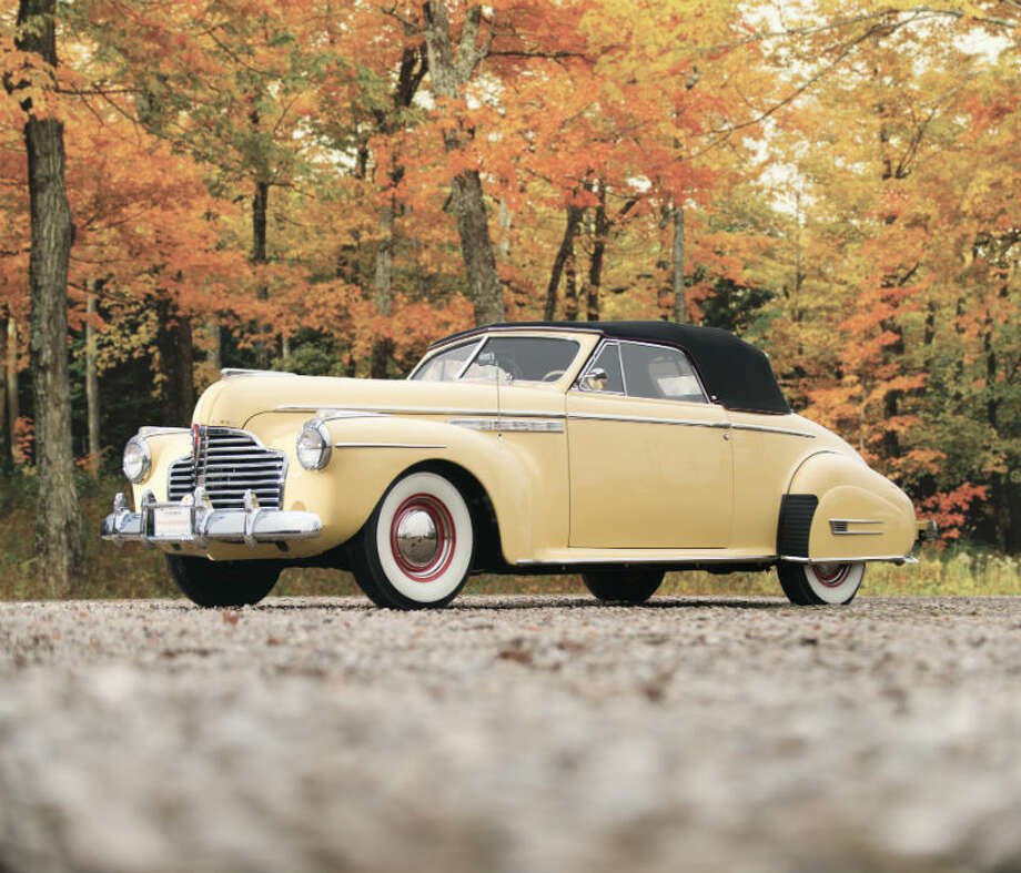 A 1941 Buick Roadmaster sold for $137,500. Photo: Darin Schnabel/RM Auctions Photo: Courtesy Of RM Auctions