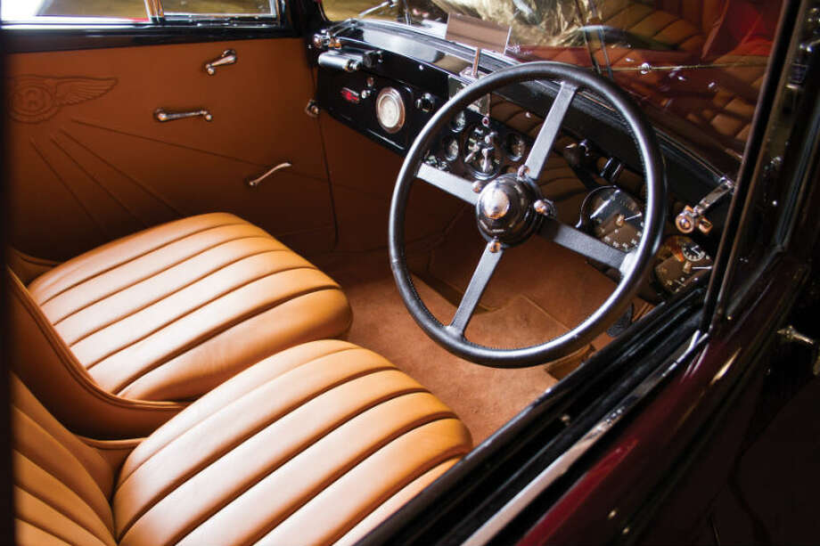 A 1934 Bentley 3 ½ litre Drophead Coupe sold for $156,750. Photo: Teddy Pieper/RM Auctions Photo: Courtesy Of RM Auctions