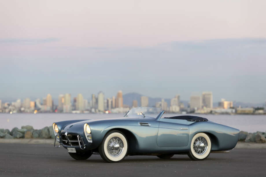 A 1954 Pegaso Z-102 Series II Cabriolet sold for $700,000. Photo: Pawel Litwinski/RM Auctions Photo: Courtesy Of RM Auctions