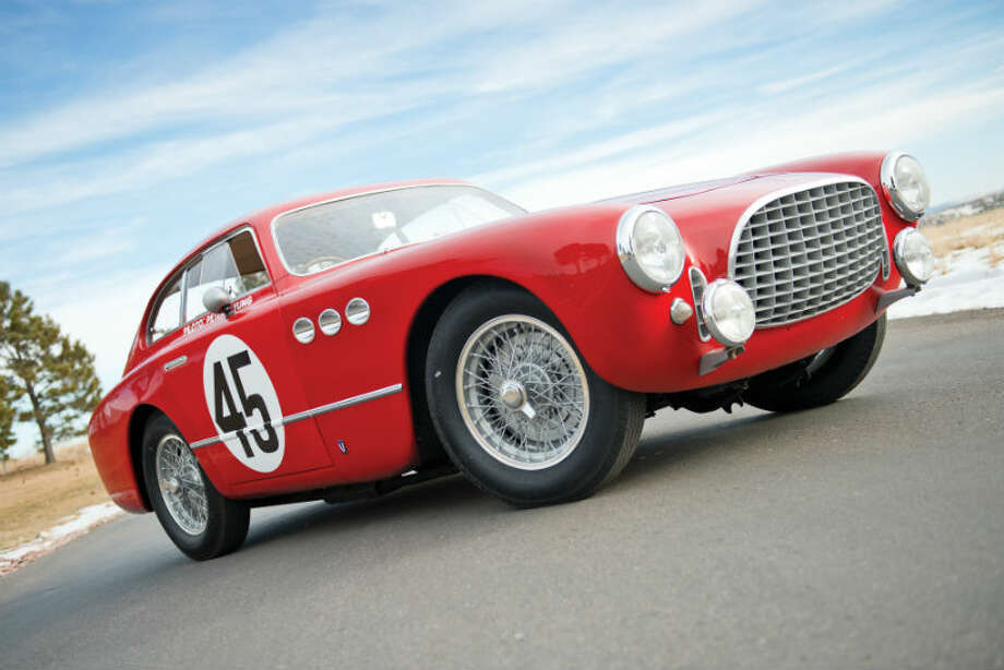 A 1952 Ferrari 225 Sport Berlinetta sold for $1,237,500. Photo: Darin Schnabel/RM Auctions Photo: Courtesy Of RM Auctions