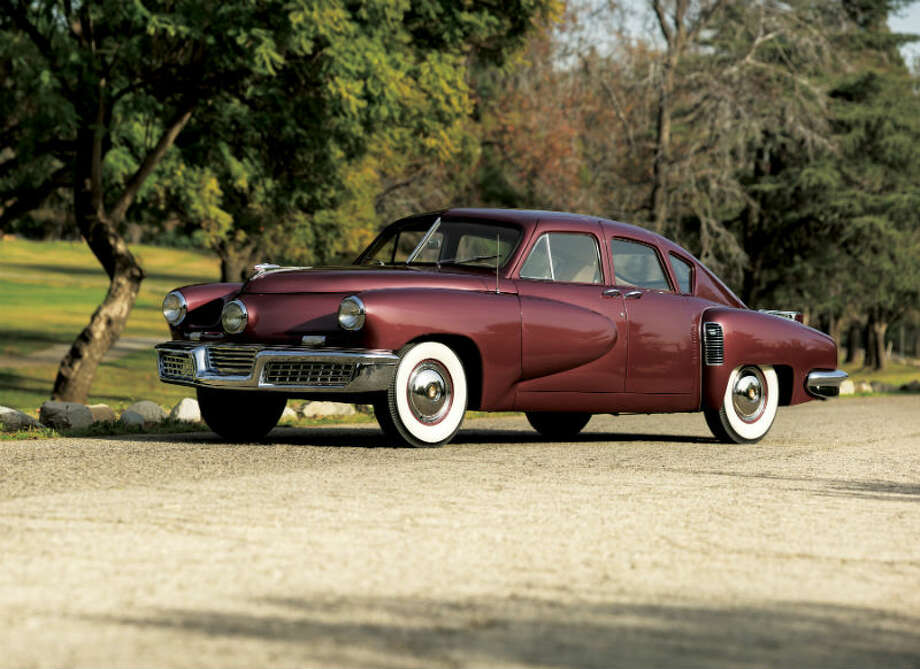 A 1948 Tucker 48 sold for $1,475,000. Photo: Pawel Litwinski/RM Auctions Photo: Courtesy Of RM Auctions