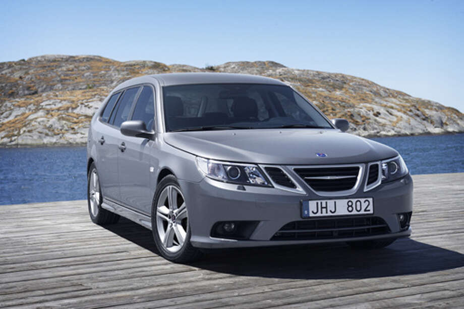 "2009 Saab 9-3Page 13: ""Only one person per safety belt!"" This kind of limited thinking is probably why Saab went out of business. (Photo: GMEurope, Flickr)Source: Popular Mechanics"