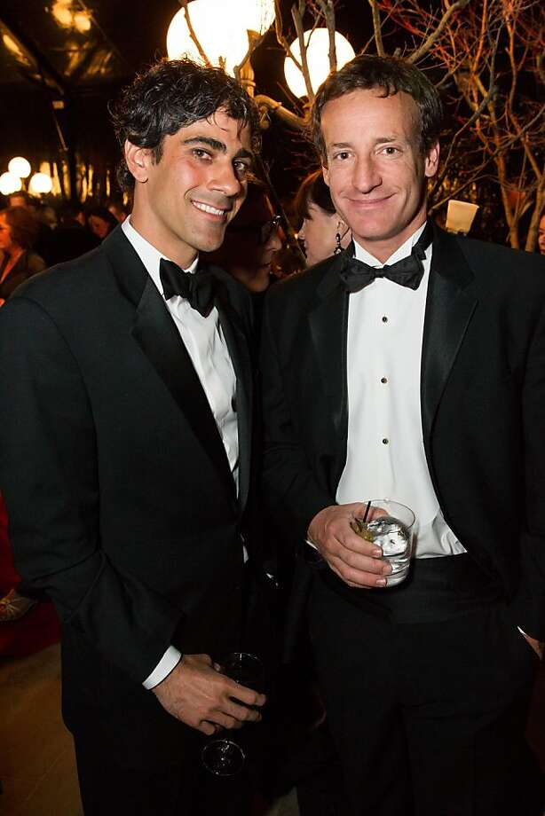 Jeremy Stoppelman and Todd Traina at FAMSF's Mid-Winter Gala on March 09, 2013. Photo: Drew Altizer Photography