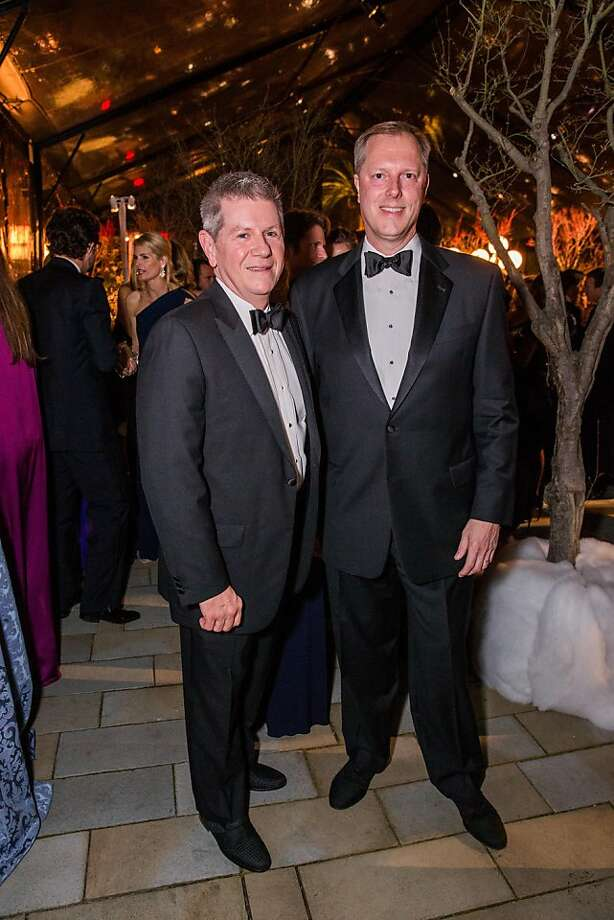 Richard Benefield and John Kunowski at FAMSF's Mid-Winter Gala on March 09, 2013. Photo: Drew Altizer Photography