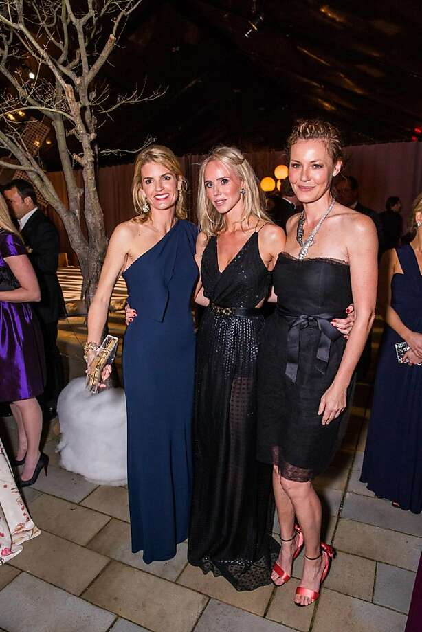 Vandy Boudreau, Vanessa Getty and Connie Nielsen at FAMSF'sMid-WinterGala on March 09, 2013. Photo: Drew Altizer Photography