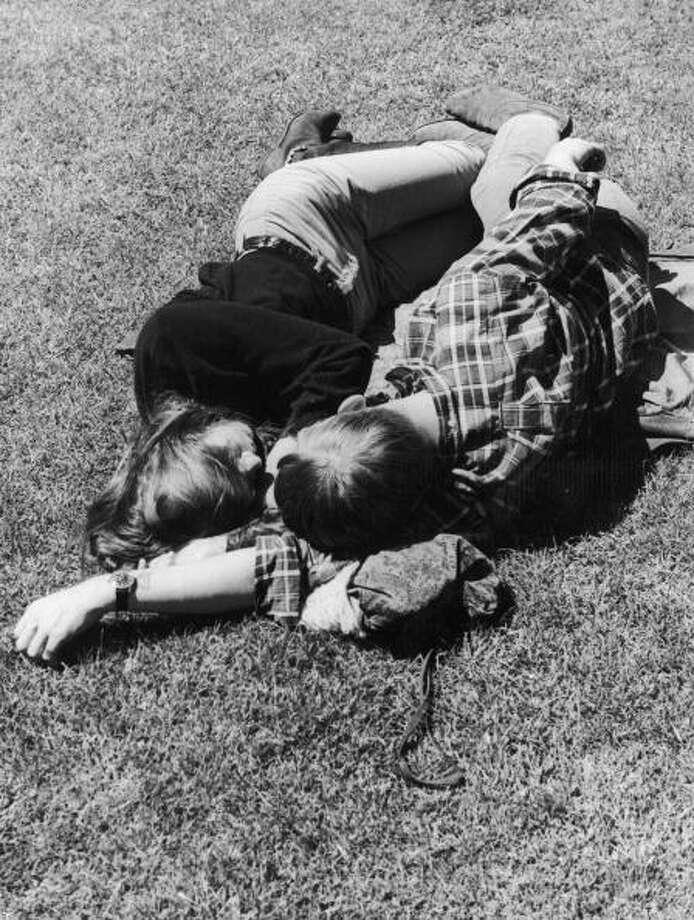 Beatniks in San Francisco. Photo: Keystone-France, Getty / 1967 Keystone-France