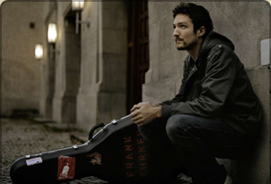 Frank Turner's brand of lively folk will fit in perfect in Austin. Turner will be playing th