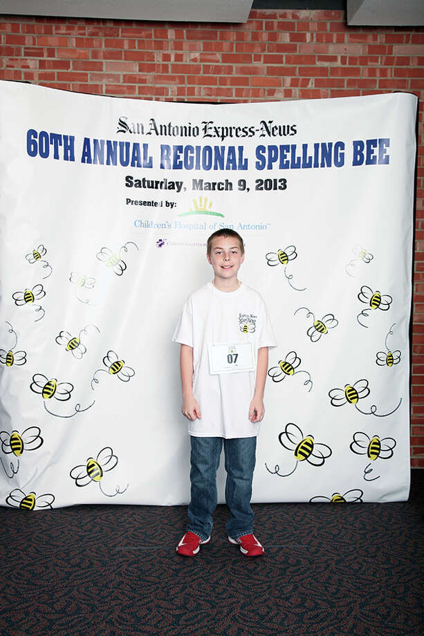 60th Annual San Antonio Express-News Regional Spelling Bee  Presented by Children's Hospital of San Antonio Photo: San Antonio Express-News