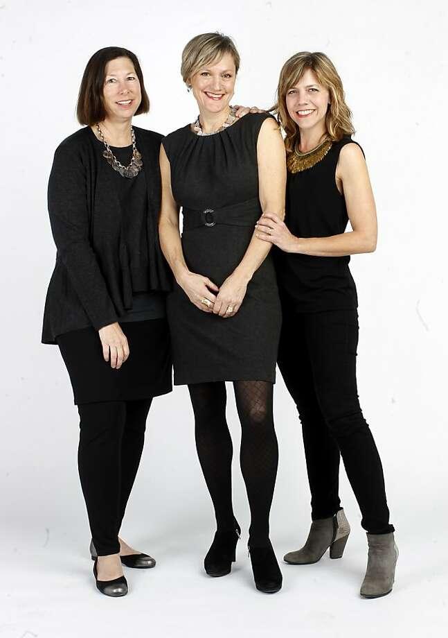Tessa Wilcox (left), Jody Knowlton and Kerri Hurtado. Photo: Brant Ward, The Chronicle