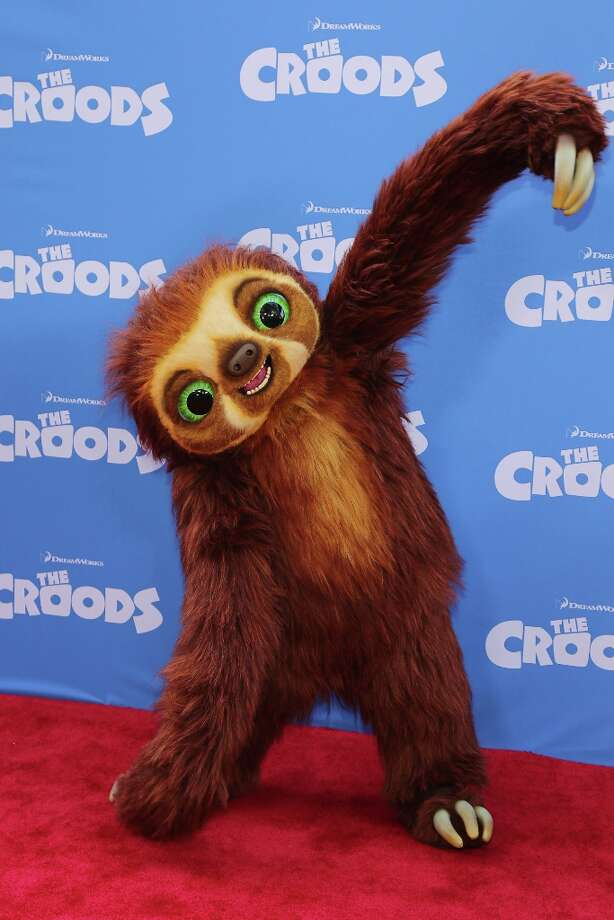A general view of atmosphere during The Croods premiere at AMC Loews Lincoln Square 13 theater on March 10, 2013 in New York City. Photo: Neilson Barnard, Getty Images / 2013 Getty Images