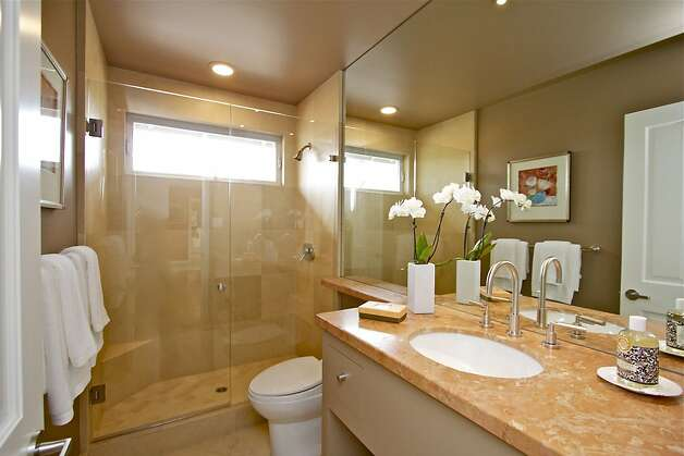 The two-bathroom home is 1,870 square feet.  Photo: Karin Larson Photography