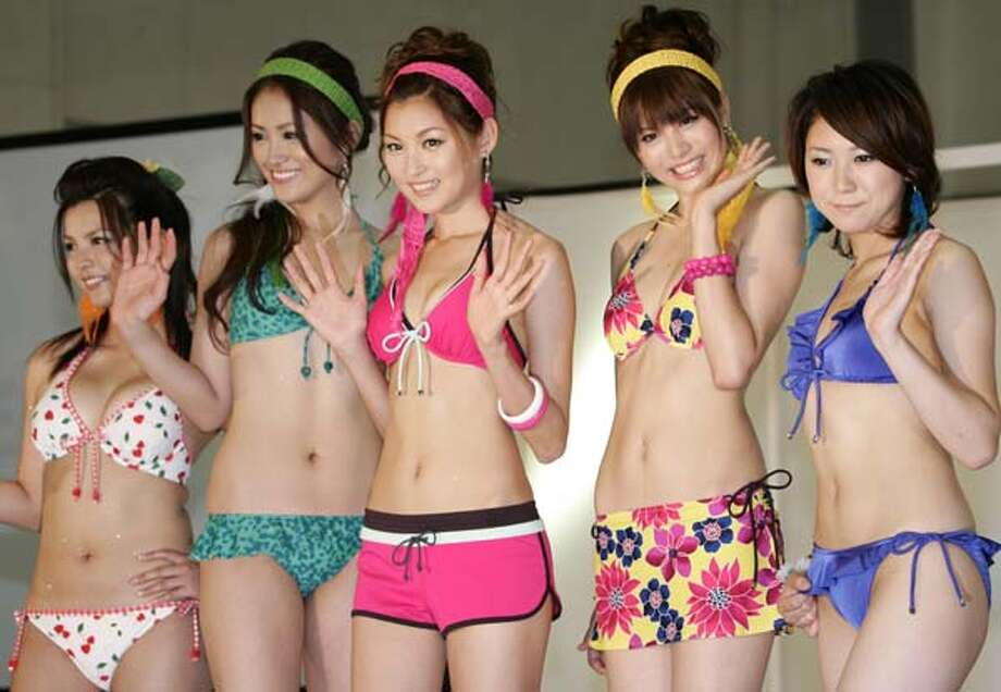 2008: Japan's apparel giant Sanai in Tokyo  Photo: YOSHIKAZU TSUNO, AP/Getty / AFP