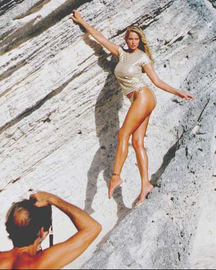 1995:Sports Illustrated swimsuit issue.  Photo: SPORTS ILLUSTRATED, AP/Getty / NBC