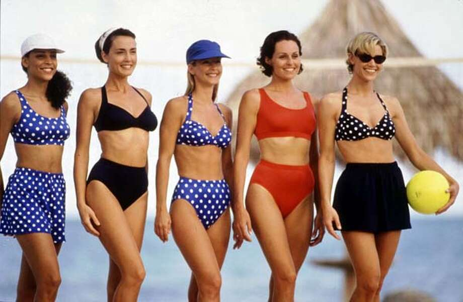1994:Camouflage to flatter every figure.  Photo: AP/Getty