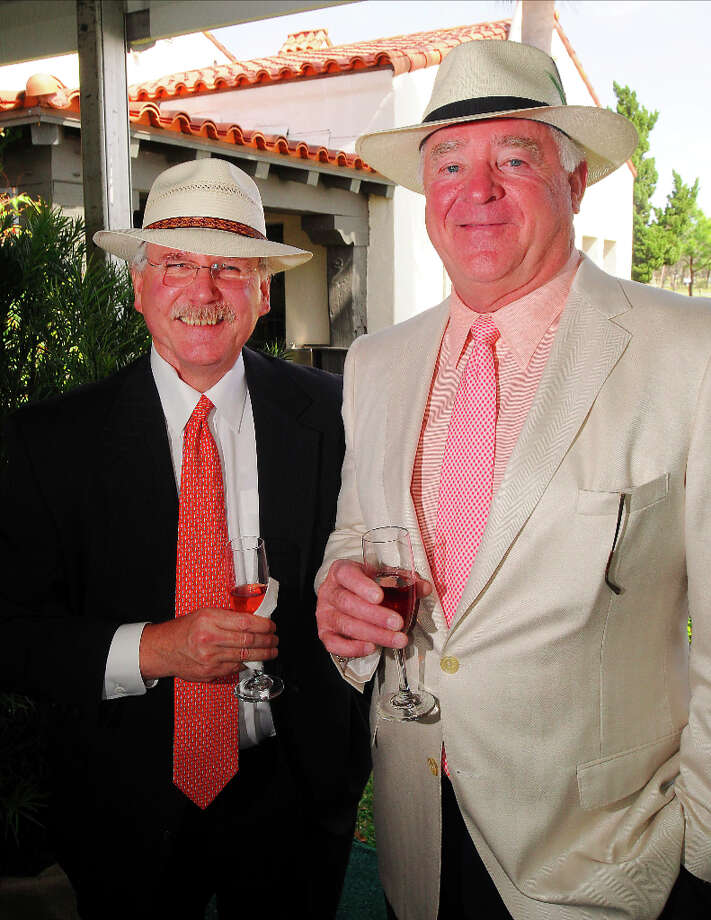 Michael Francisco and Dan Tutcher Photo: Dave Rossman, For The Houston Chronicle / © 2013 Dave Rossman