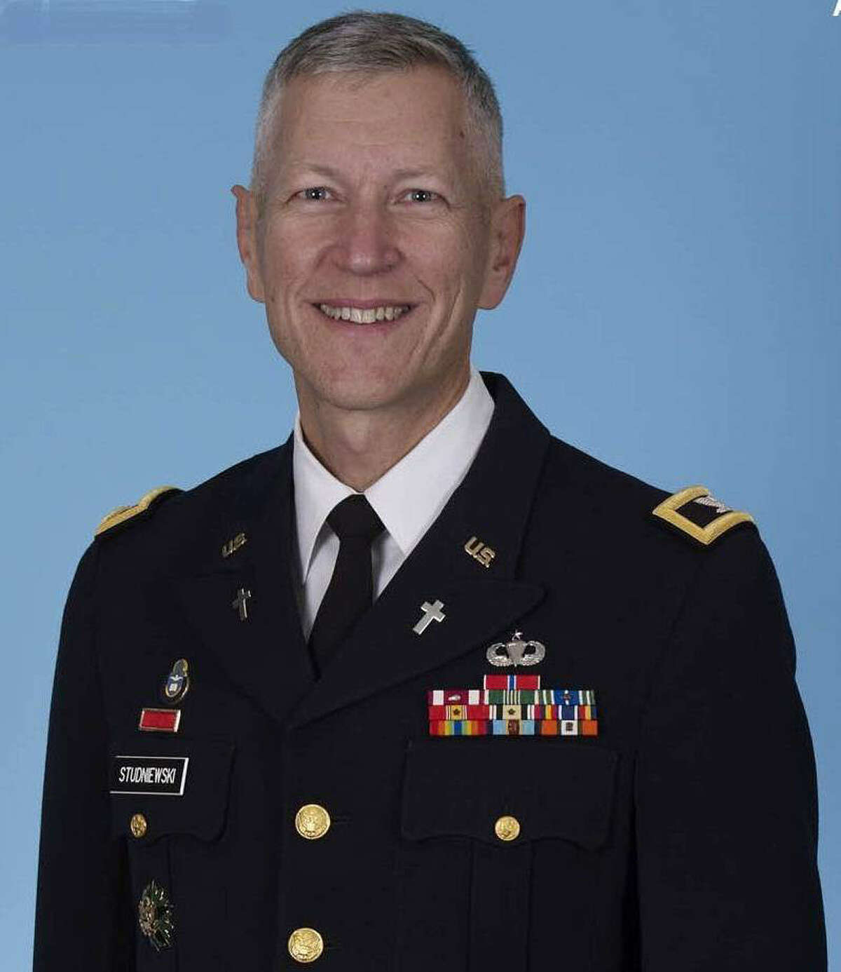 Col. Gary R. Studniewski is the command chaplain of U.S. Army North at Fort Sam Houston.