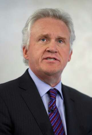 Jeff Immelt, chairman and CEO of General Electric, speaks during a news conference in New York, Monday, March 11, 2013. Photo: Seth Wenig, Associated Press / Associated Press