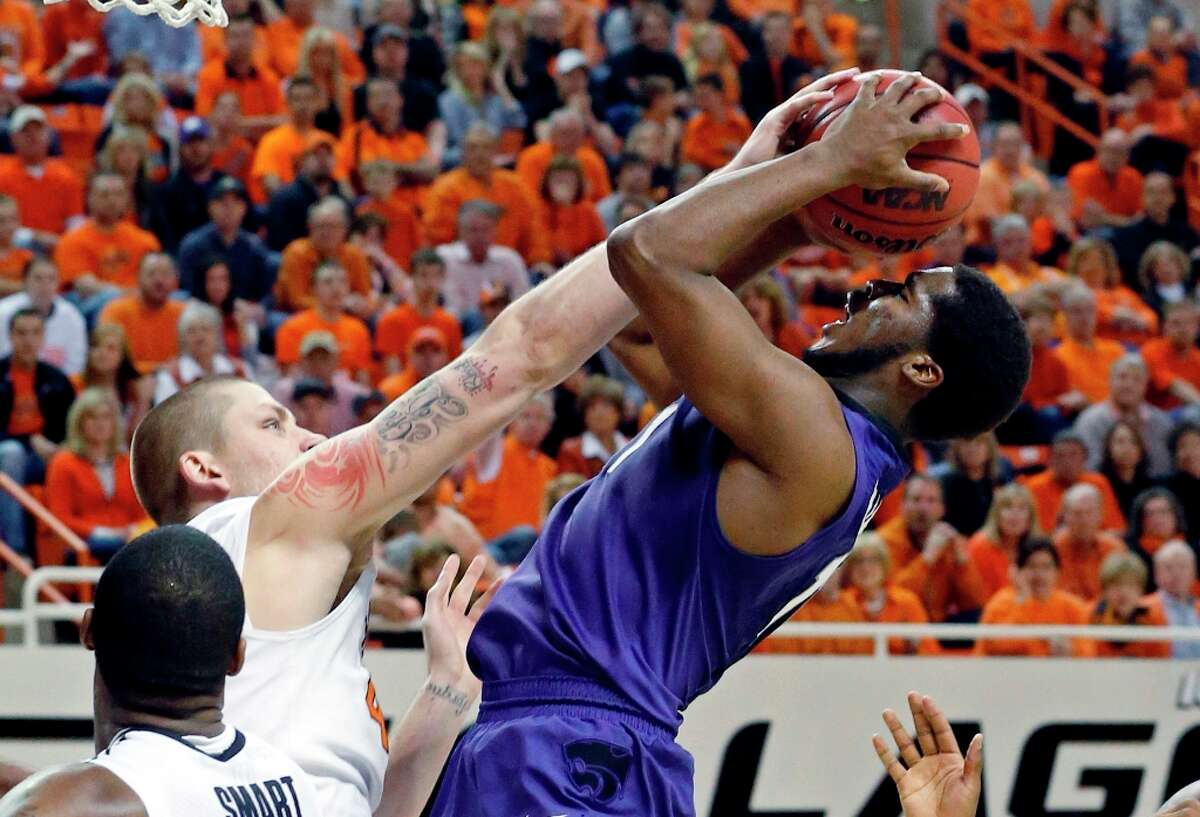 2. Kansas State (25-6, 14-4) - Wildcats won 20 straight game while leading with 10 minutes left before their late collapse at Stillwater.