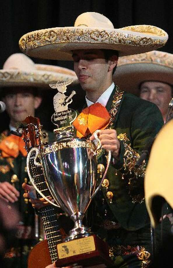 The University of Texas Pan American wins the Mariachi Invitational 2013 during the Houston Livestock Show and Rodeo.